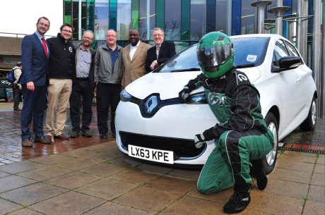 Transport Minister launches UK's first EV car club